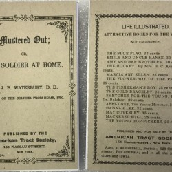 MUSTERED OUT; or The Soldier at Home - American Tract Society
