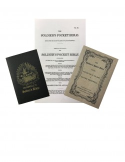 All 3 reprints (USA - 1862 & 1864 and the CSA - 1863) of The Soldier's Pocket Bible by Oliver cromwell